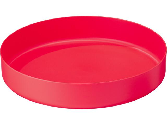 MSR Deepdish Plate L, red